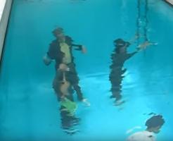 日本の錯覚を利用したプール