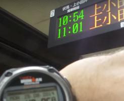 電車の時刻海外の反応