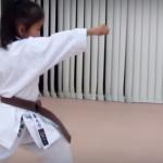 【海外の反応】6歳なのにスゴイ!日本の空手少女の型の動きに驚きの声