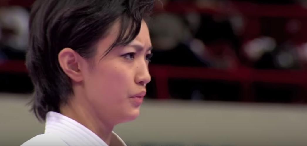 【海外の反応】美人すぎる空手家、宇佐美里香さんの型の動きに外国人から様々な声が