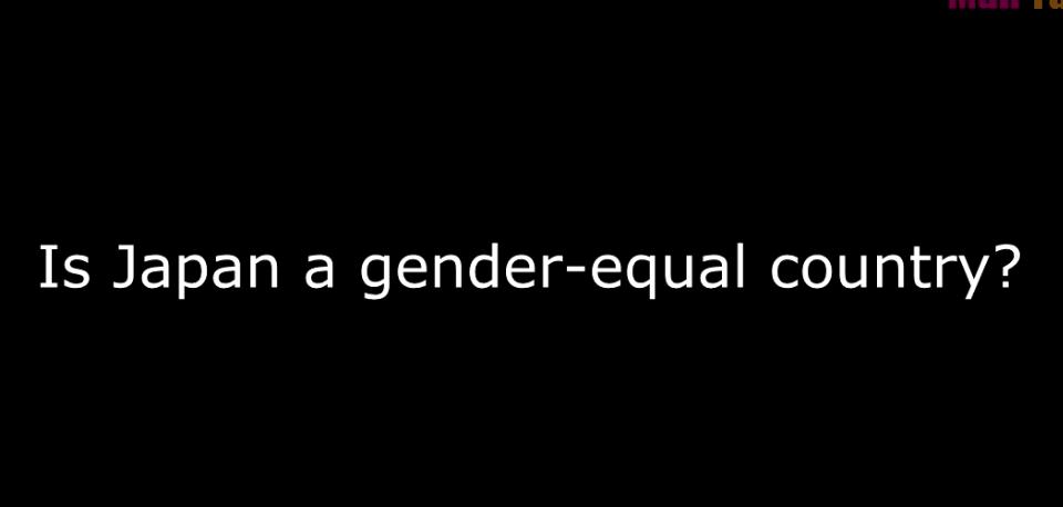 【海外の反応】外国人「日本の女性は公平だ」男女の違いについてのインタビュー