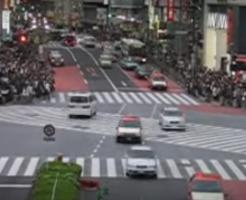渋谷のスクランブル交差点海外の反応